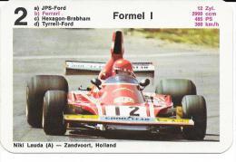 FORMULA 1 FORMEL 1 FERRARI NIKI LAUDA ZANDVOORT HOLLAND - Autosport - F1