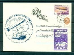 Russie - USSR - Enveloppe 1991 - Rendez-vous Zeppelin Maligin - Events & Commemorations