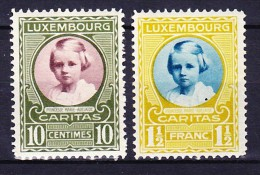 LUXEMBOURG 1928 YT N° 209 Et 213 ** - Nuevos