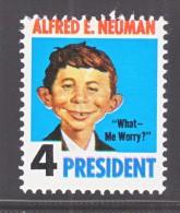U.S. ALFRED E. NEUMAN  4  PRESIDENT   ** - United States