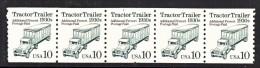U.S. 2457   X 5      **   TRACTOR  TRAILER - Coils & Coil Singles