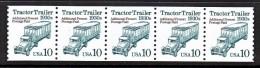 U.S. 2458   X 5       **   TRACTOR  TRAILER - Coils & Coil Singles