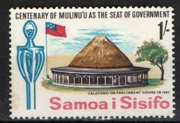 SAMOA - 1967 - FALEFONO - SEDE DEL PARLAMENTO - USATO - Samoa