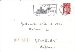 France 1999 Evran Côtes-d'Armor >> Mechelen B / St Juvat Village Fleurie - Végétaux