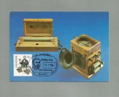 BRD 1984  Mi.Nr. 1198 , Philipp Reis - Maximum Karte - SS GELNHAUSEN 13.-1.1984 - [7] Repubblica Federale