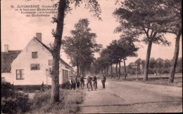 Zuienkerke : Kruiskalsijde En De Baan Naar Blankenberge - Zuienkerke