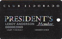 Eldorado Casino Shreveport, LA - 2nd Issue Slot Card - (I) Bottom Right Back - Casino Cards