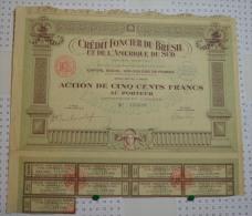 Credit Foncier Du Brésil Et De L'Amérique Du Sud - Banque & Assurance