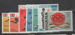 Ghana, 1964, SG 347 - 353, Complete Set Of 4, MNH - Ghana (1957-...)