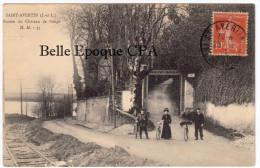 37 - SAINT-AVERTIN - Entrée Du Château De Cangé ++++ H. M., #35 ++++ 1916 +++ RARE / Chemin De Fer - Saint-Avertin