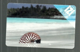 Carte IZI    COQUILLAGE   (clasroudpoly) - Neukaledonien