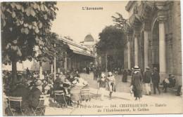 L´Auvergne - Puy-de-Dôme - CHATELGUYON - Entrée De L´Etablissement , Le Casino - Châtel-Guyon