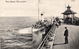Postcard - Boscombe Pier, Dorset. 89723 - Bournemouth (from 1972)