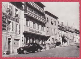 CPSM - 39 - JURA - LONGCHAUMOIS - LA GRANDE RUE + PEUGEOT 203 AU 1ER PLAN - France