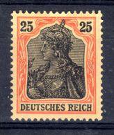 6.1.1906,  Germania, YT 86, Michel-Nr. 88, Neuf *, Lot 44873 - Unused Stamps