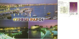 KIBRIS  CYPRUS  CIPRO  PAFOS Harbour  Nice Stamps - Cipro