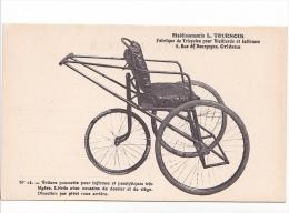 25714 ORLEANS - Etablissements Tournois -N°12 Tricycles Pour Vieillards Infirmes -poussette Chaise Roulante Handicapé