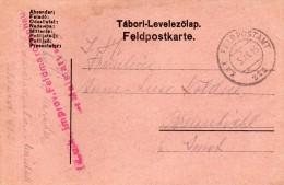 1916  CARTOLINA   CON ANNULLO FELDPOST - Documents
