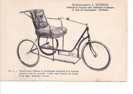25715 ORLEANS - Etablissements Tournois -N°11 Voiture Infirmes Paralytiques Velo Chaise Roulante Handicapé - Cartes Postales