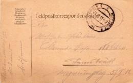 1917  CARTOLINA   CON ANNULLO FELDPOST - Dokumente