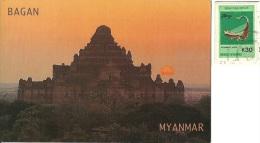 MYANMAR  BURMA BIRMANIA  BAGAN  Dhamma Yan Gyi Temple  Nice Stamp - Myanmar (Burma)
