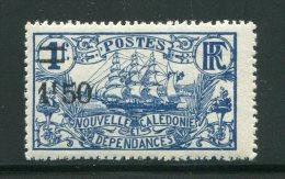 NOUVELLE CALEDONIE- Y&T N°135- Neuf Avec Charnière * - Nouvelle-Calédonie