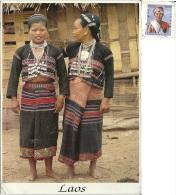 LAOS  Nord Laos Woman Kui Sung  Nice Stamp - Laos