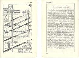 @@@ BERGWERK, 18X11CM, 1935, MINE - Alte Papiere