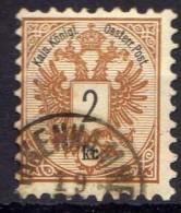 Österreich 1883 Mi 44 A, Zähnung 9 1/2, Gestempelt [280316XIV] - 1850-1918 Empire