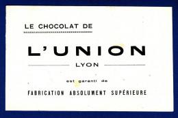 69 LYON Le Chocolat De L´Union - Les Taches Jaunes Sont Accentuées Par Le Scanner - Cioccolato
