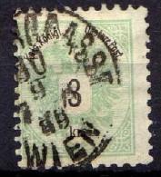 Österreich 1883 Mi 45 D, Zähnung 10 1/2, Gestempelt [280316XIV] - Gebraucht