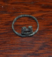 Ring. Excavations Of The Ancient Before Rome BRONZE.Etruscans - Archéologie