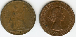 Grande-Bretagne Great Britain 1 Penny 1965 KM 897 - D. 1 Penny