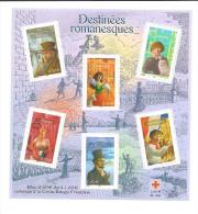 Bloc  Feuillet N° 60 Les Destinées Romanesques, Neuf - Ungebraucht