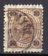 Österreich 1890 Mi 59 H, Zähnung 11 1/2, Gestempelt [280316XIV] - 1850-1918 Empire