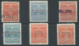1151 - SCHWYZ Fiskalmarken - Steuermarken