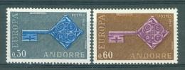 ANDORRE FRANCAIS - Mi. Nr 208/209 - MNH** - Europa CEPT - Cote 20,00 € - Ongebruikt
