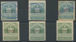 1155 - SCHWYZ Fiskalmarken - Steuermarken