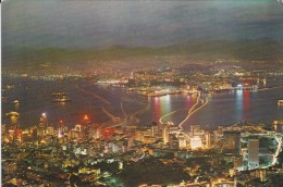 ASIE----CHINE--HONG KONG---night Scene From Peak---voir 2 Scans - China (Hong Kong)