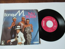 BONEY. M    ---    MA BAKER   &   A WOMAN CAN CHANGE A MAN   --  2 Photos - Disco, Pop