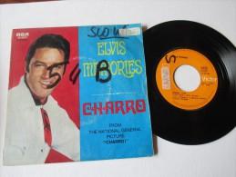 ELVIS  PRESLEY   ---   CHARRO    &    MEMORIES   ---   2 Photos - Disco, Pop