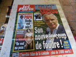 AFFICHE ICI PARIS MICHEL SARDOU REGARDEZ MES VENTES ! J´EN AI D´AUTRES - Tijdschriften: Abonnementen