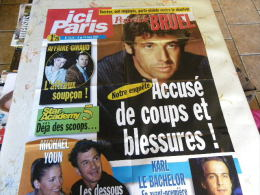 AFFICHE ICI PARIS PATRICK BRUEL REGARDEZ MES VENTES ! J´EN AI D´AUTRES - Tijdschriften: Abonnementen