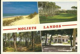MOLIETS , L' Océan , Le Golf , La Forêt , La Mairie - Autres Communes