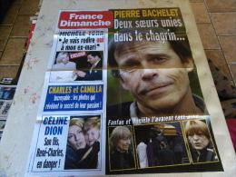 AFFICHE FRANCE DIMANCHE PIERRE BACHELET REGARDEZ MES VENTES ! J´EN AI D´AUTRES - Tijdschriften: Abonnementen