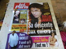 AFFICHE ICI PARIS JEAN-LUC LAHAYE REGARDEZ MES VENTES ! J´EN AI D´AUTRES - Tijdschriften: Abonnementen