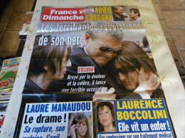 AFFICHE ICI FRANCE DIMANCHE GREGORY LEMARCHAL REGARDEZ MES VENTES ! J´EN AI D´AUTRES - Tijdschriften: Abonnementen