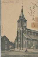 Aische-en-Refail   -   L'Eglise  (met Plooitje En Vlek);  1904  Naar  Bruxelles - Eghezée