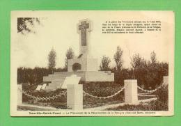 CPA  FRANCE  62  ~  NEUVILLE-SAINT-VAAST  ~  Le Monument De La Résurrection De La Pologne  ( Fauchois ) - Autres Communes