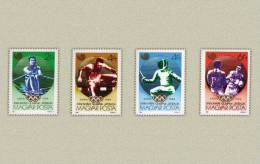 Hungary 1988. Summer Olimpic Games, Seoul Set MNH (**) Michel: 3959-3962 / 3.50 EUR - Ete 1988: Séoul